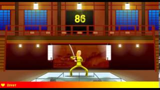 Kill Bill 2 - Flash Game - Casual Gameplay