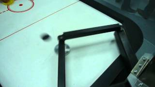 Air Hockey Robot with carbon arms