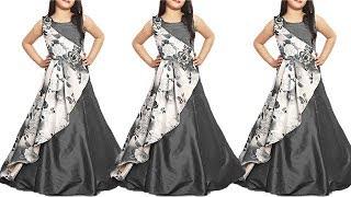 DIY Designer Kurti  For 8 To 9 Year Baby Girl Full Tutorial
