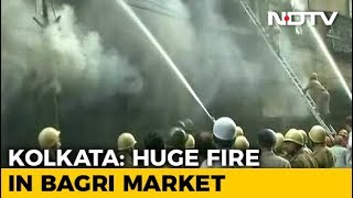 Massive Fire Breaks Out At Kolkata Market, 30 Fire Engines At Spot