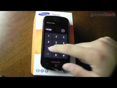 [Part X] Samsung Focus - Diagnostic Codes & USB Internet Tethering