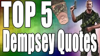 Top 5 Tank Dempsey Quotes *Call of Duty Zombies*