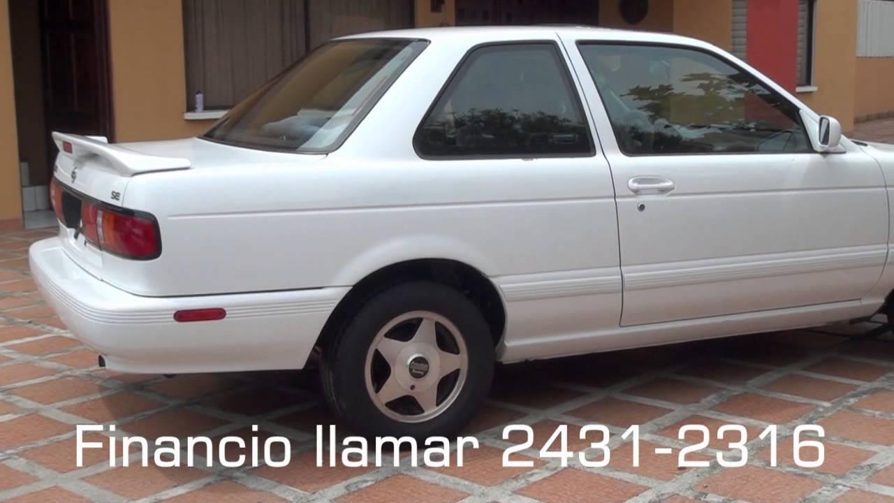 Nissan Sentra B13 1993 SE, BLANCO 2 PUERTAS, 5TA. - YouTube
