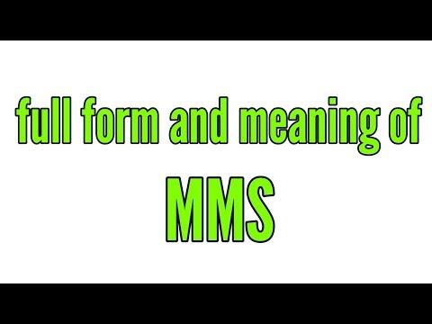 एमएमएस फुल फॉर्म इन हिंदी,mms full form