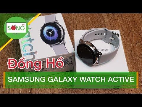 Đồng Hồ Samsung Galaxy Watch Active | Sống TV