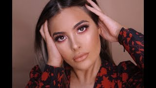 HUDA BEAUTY NUDE PALETTE  REVIEW | KARLA ROCCUZZO