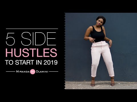 How to make money : 5 side hustles you can do in 2019