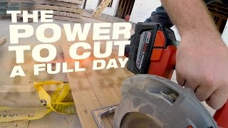 "Milwaukee® Cordless Productivity: M18 FUEL™ 7-1/4"" Circ Saw w/ High Demand™ 9.0 Redlithium™ Battery"