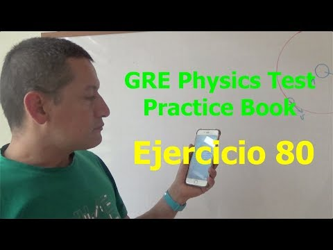 Ejercicio 80 - GRE Physics Test Practice Book