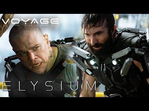 Max Faces Off Against Kruger | Elysium | Voyage