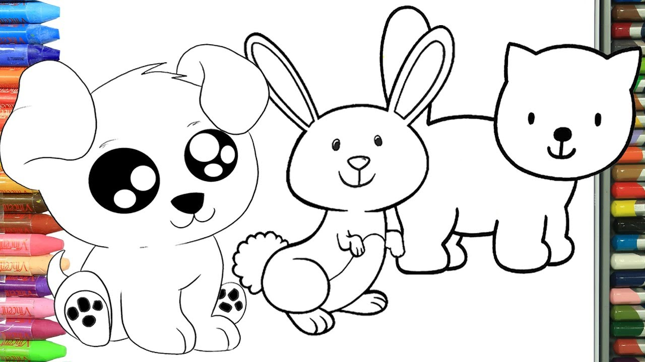 Cómo Dibujar Y Colorear Animales