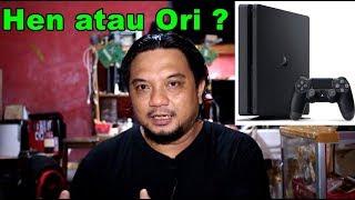 MAU BUKA RENTAL PS4, BAGUSNYA PAKE PS4 ORI atau PS4 HEN ?