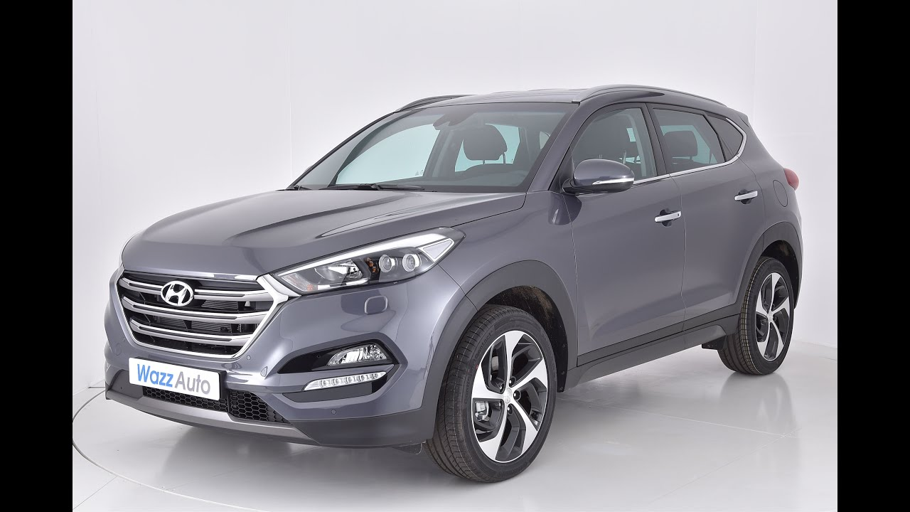 Tucson 2017 Vs Tucson 2018 >> Hyundai Tucson CRDI 2.0 L 136 cv Creative couleur Micron Grey - YouTube