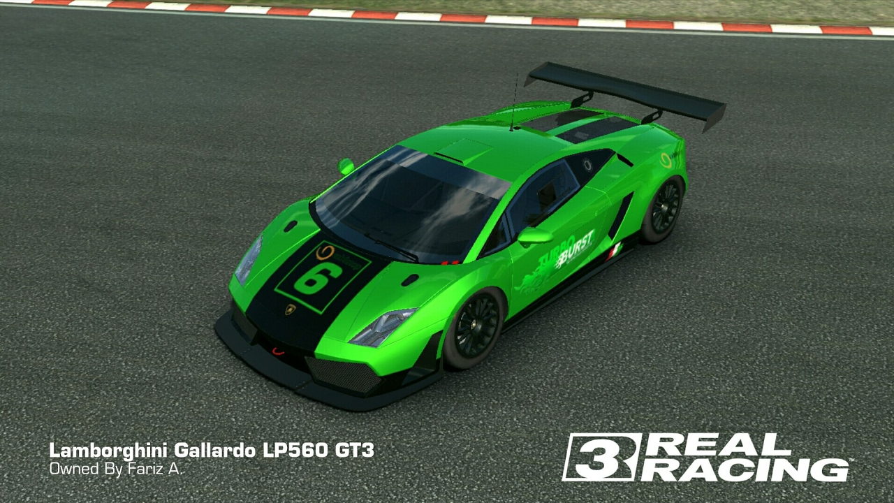 Superb Real Racing 3 HEAD TO HEAD LAMBORGHINI GALLARDO LP560 GT3