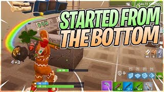 Started From The Bottom Now We're Here - Fortnite BR Full Gameplay