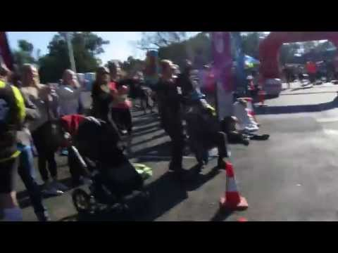 Traralgon finish line - Cathy - 10km