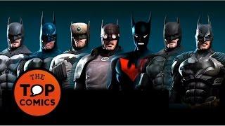 Las diferentes versiones de Batman