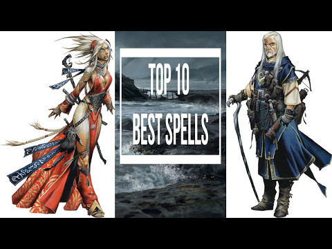 Top 10 Wizard and Sorcerer Spells