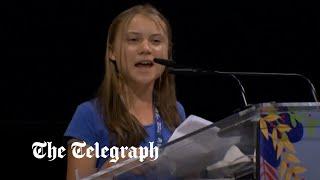 video: 'Blah, blah, blah': Greta Thunberg mocks world leaders over empty climate change pledges