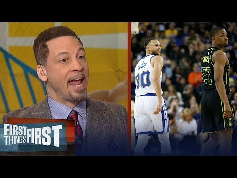 Chris Broussard reveals how Warriors can win after Curry's MCL injury | FIRST THINGS FIRST