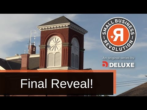 Fredonia Small Business Revolution Final Reveal