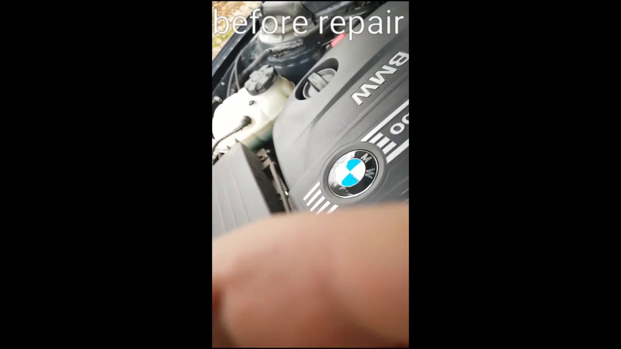 BMW F30 N47 Timing Chain Before and After replacement