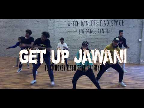 GET UP JAWANI - Yo Yo Honey Singh feat. Badshah | Class Video