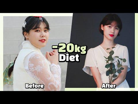 Eng) -20kg를 뺀 나의 다이어트 방법? +살쪘을 때 사진 보기?