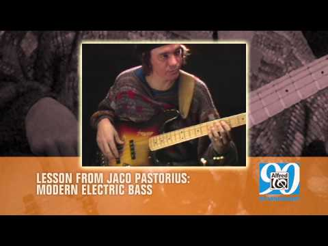 """Modern Electric Bass - Jaco Pastorius - """"Arpeggios and Double Stops"""""""