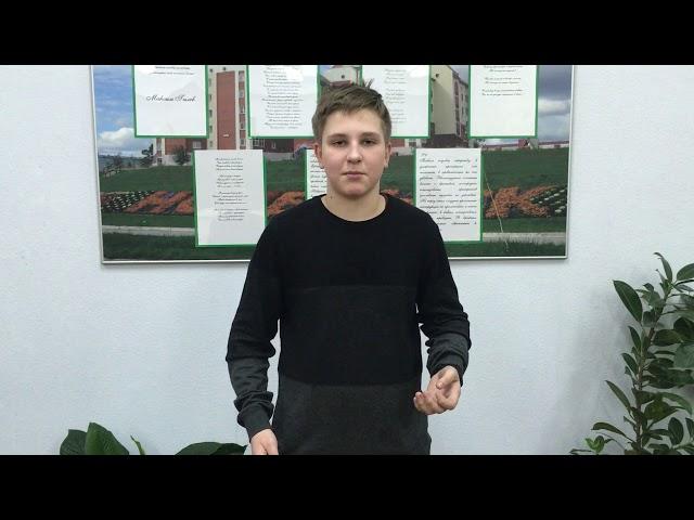 Изображение предпросмотра прочтения – БогданБайрачный читает произведение «О, я хочу безумно жить» А.А.Блока