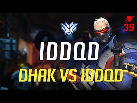 NRG iddqd - DHAK vs IDDQD [39 kills in Watchpoint Gibraltar]