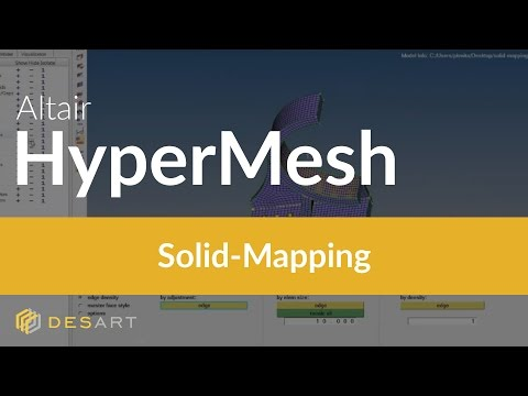 HyperMesh - Solid-Mapping