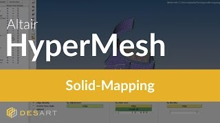 HyperMesh – Solid-Mapping