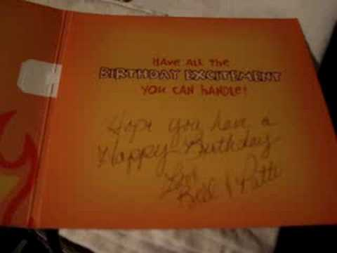 Homer Simpson Birthday Card Youtube