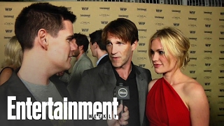 True Blood: Anna Paquin & Stephen Moyer EW's Emmy Party 2010 Interview | Entertainment Weekly