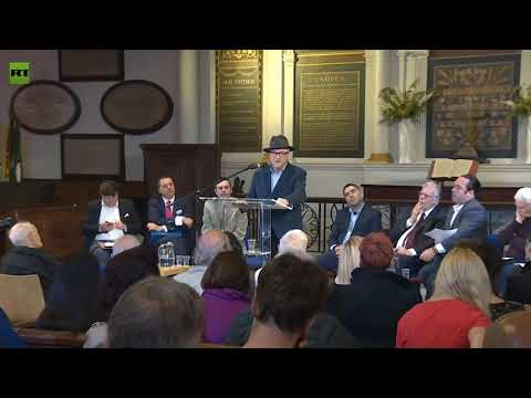 """George Galloway: """"DNC Material Was Leaked & Not Hacked"""" - 'Imperialism On Trial' - 12th June  2019"""