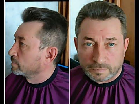 ✔Стрижка.✂️ Пошаговое выполнение. 1 часть.✂️сведение волос