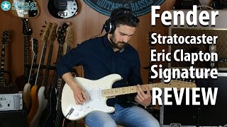 Fender Stratocaster Eric Clapton Review / Guitar Cover