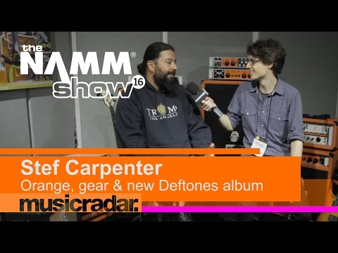 NAMM 2016: Stephen Carpenter on Orange, gear and new Deftones album, Gore Mp3