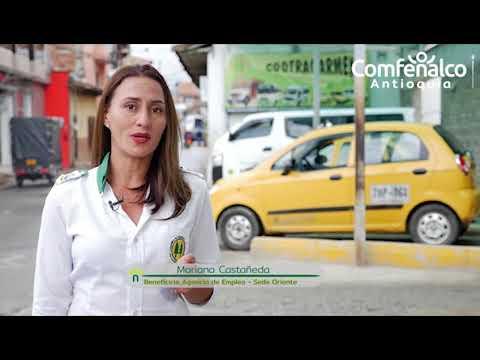 Primera mujer taxista en el Carmen de Viboral
