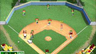 Backyard Baseball League (PC) Tournament Game #1 Part 1: Ronny FOCUS ON THE BALL!