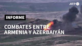 Azerbaiyán y Armenia al borde de la guerra, con violentos combates en Nagorno Karabaj | AFP