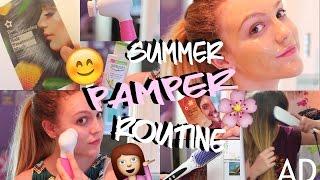 MY SUMMER PAMPER ROUTINE 2016!   BeautySpectrum
