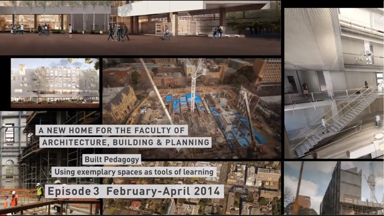 A New Home For The Faculty Of Architecture Building And Planning Episode 3 Youtube