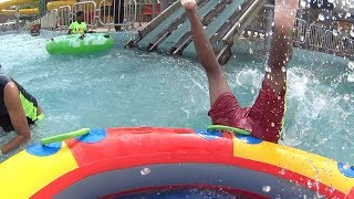 Hilarious Rafting Slide at Blue World
