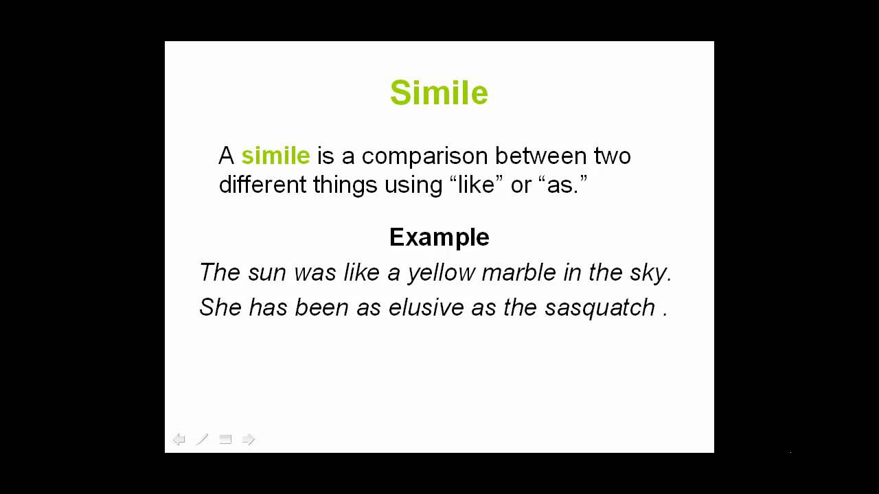 100 Similes Easy and Hard Simile Examples – Figure of Speech Example Template