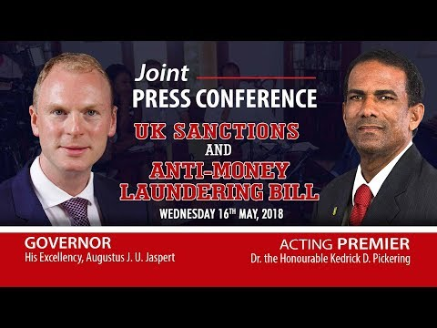 Joint Press Conference - UK Sanctions and Anti Money Laundering Bill   16MAY2018