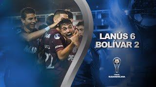 Lanús vs. Bolívar [6-2] | RESUMEN | Octavos de Final | CONMEBOL Sudamericana