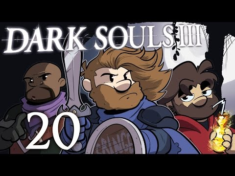 Dark Souls III | Let's Play Ep. 20: Swimming with Concrete Shoes | Super Beard Bros.
