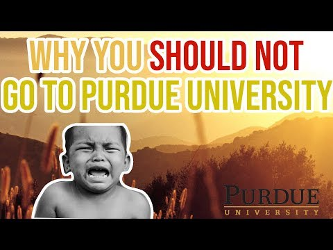 Why I Left Purdue University
